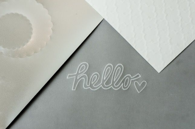 Embossing Tips and Tricks