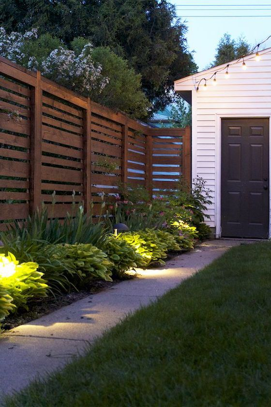 Best 25 yard privacy ideas on pinterest screening for Landscaping ideas for privacy screening