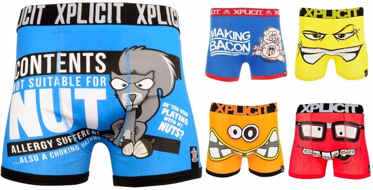 Mens boys xplicit #designer novelty rude #boxer shorts #trunks underwear funny gi,  View more on the LINK: http://www.zeppy.io/product/gb/2/311443997363/