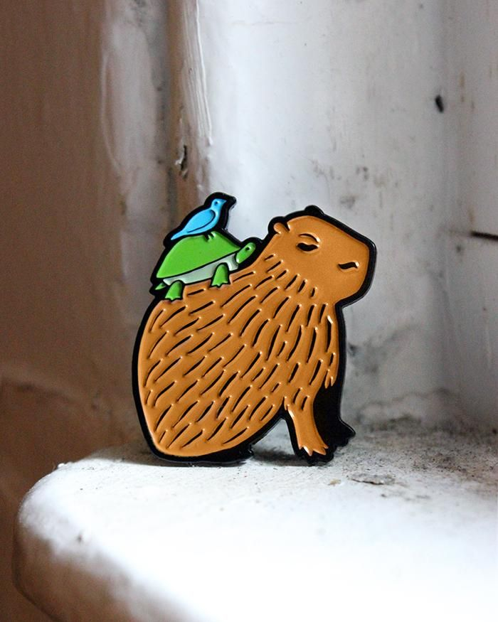 Hard to classify, yet undeniably cute! A large rodent that spends half its time in the water and is known for forging unexpected friendships, the capybara has confused humans for years as one of the world's most unusual animals. This adorable creature is a symbol for those who aren't always well ...