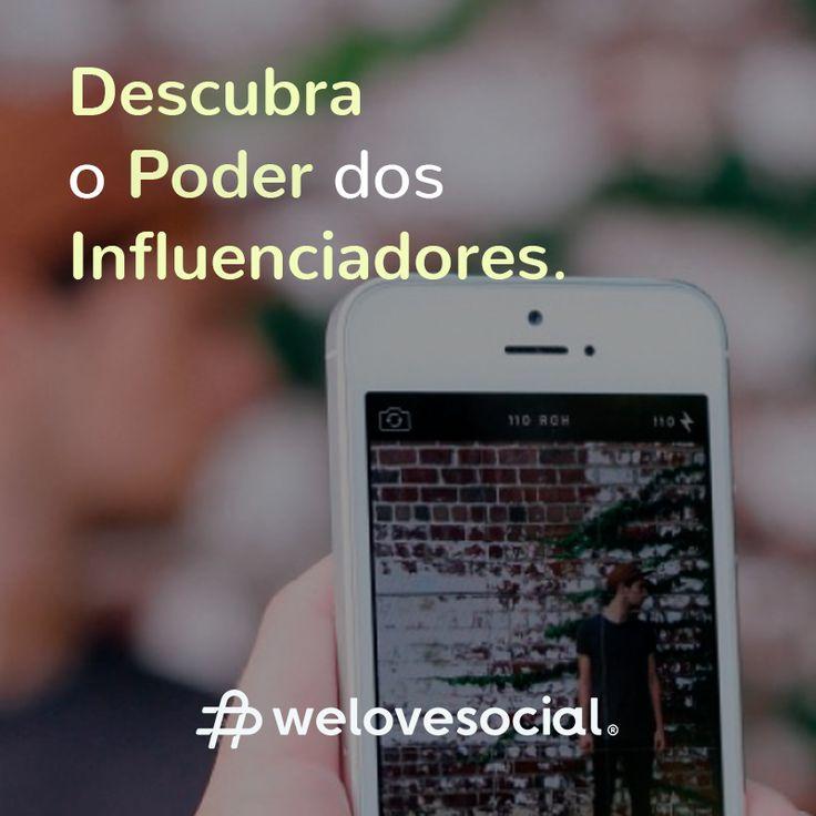 Encontrar os influenciadores certos para sua marca é o nosso desafio. Ao fazê-lo, iremos ajudá-lo a chegar a uma audiência mais vasta, a atingir os seus clientes ideais e a gerar mais confiança na sua empresa. Saiba mais sobre nós e todos os nossos serviços em www.welovesocial.pt #WeLoveSocial #Influenciadores #Influencers #RedesSociais
