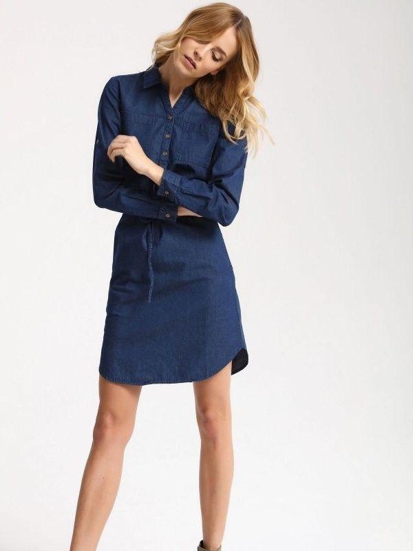 τζιν φόρεμα TOP SECRET | Για αγορά πατήστε πάνω στην εικόνα