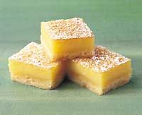 Lemon Bars- These were okay, and you probably have everything in your cupboard, but they are not the best.