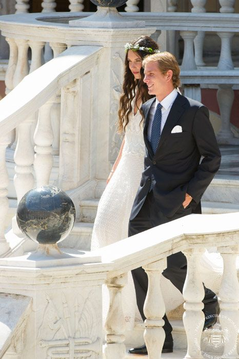 Andrea Casiraghi and Tatiana Santo Domingo marry in a royal wedding for Monaco - Photo 2 | Celebrity news in hellomagazine.com