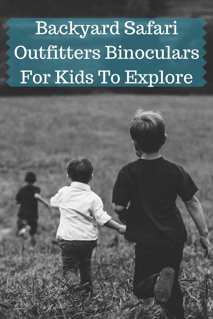 Take a look at great kids binoculars reviews about the Backyard Safari Field Binocs