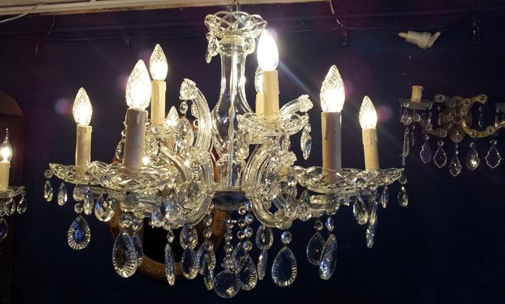 Nice old chandelier