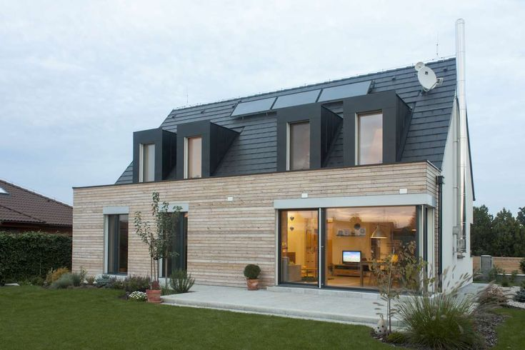 Passivhaus senec createrra energeticky pas vne domy for Maison container passive
