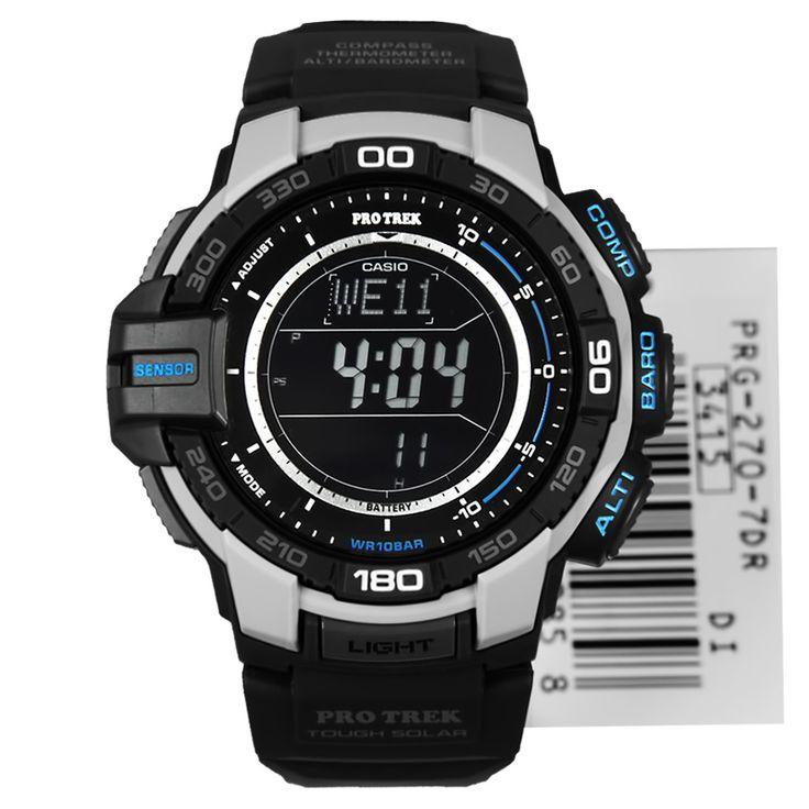 Casio Tough Solar Triple Sensor Watches PRG-270-7D