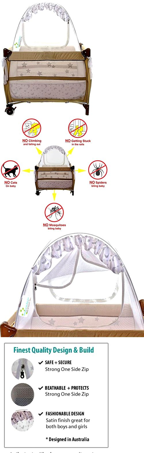 Mattress Pads and Covers 162041 Baby Crib Safety Travel Tent Fits Pack N Play Tried  sc 1 st  Pinterest & Best 25+ Crib tent ideas on Pinterest | Baby canopy Rose gold ...