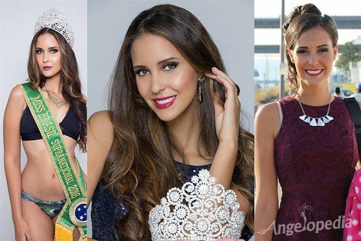 Meet Clóris Ioanna Junges of Brazil at Miss Supranational 2016