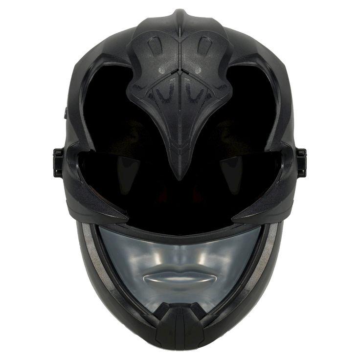 Power Rangers Movie Black Ranger Sound Effects Mask, Kids Unisex