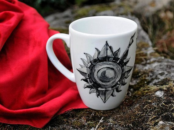 Game of Thrones Oberyn Martell painted mug, Game of Thrones Gift