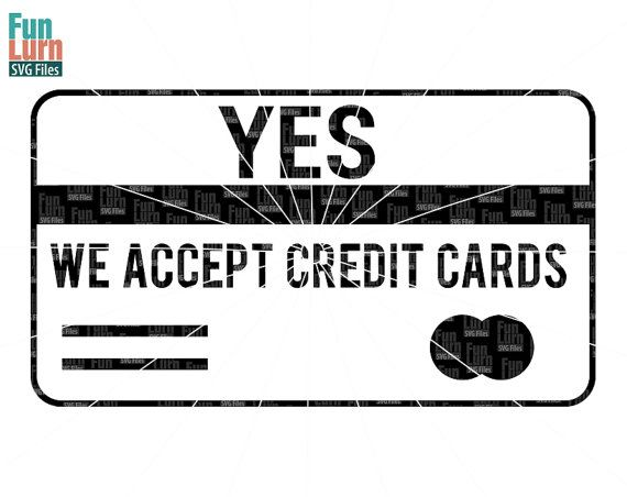 23 best business policy signs images on pinterest for Accept business credit card