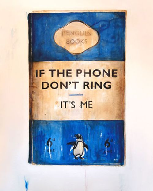 Harland Miller, If the phone don't ring