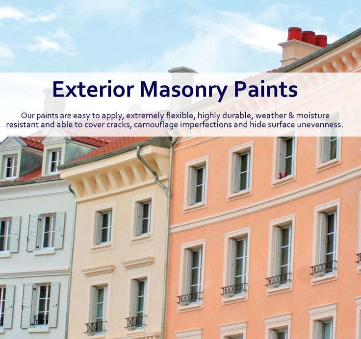 Long Lasting Exterior House Paint Colors Ideas: 17 Best Ideas About Exterior Masonry Paint On Pinterest