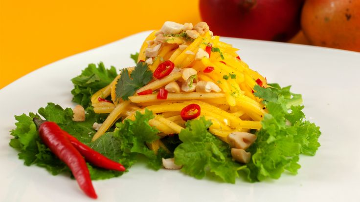 Thai Mango Salad by Theresa Visintin