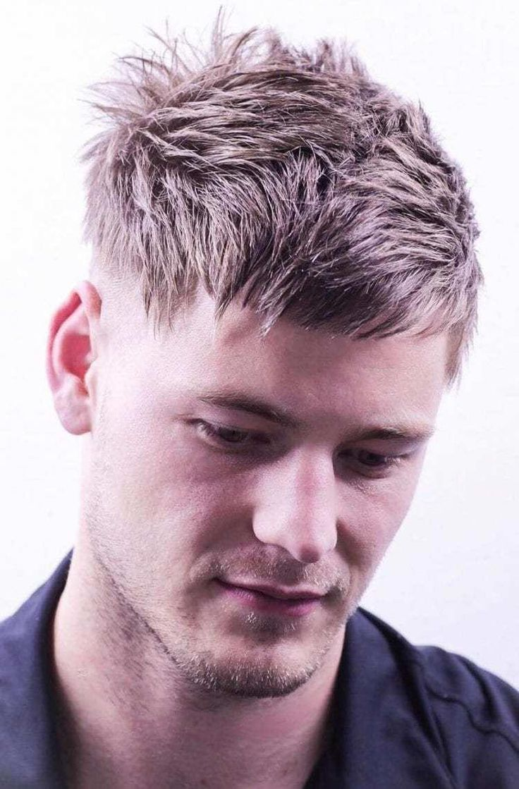 Spiky-Textured-Angular-Fringes Stylish Undercut Hairstyle Variations For 2019 #Menshairstyles