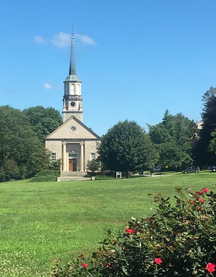 Harkness Chapel Connecticut College. James Gamble Rogers 1940.