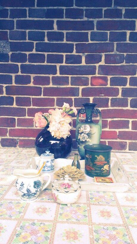 My garden table @ home