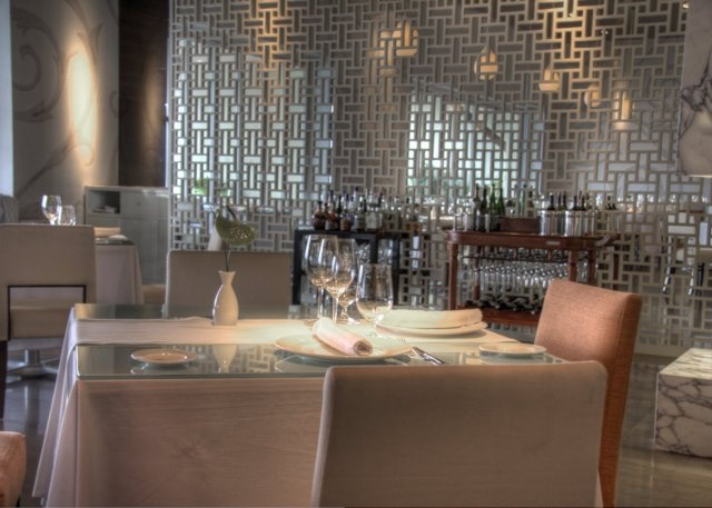 Dining room at the Grand Velas Resort's Cocina de Autor