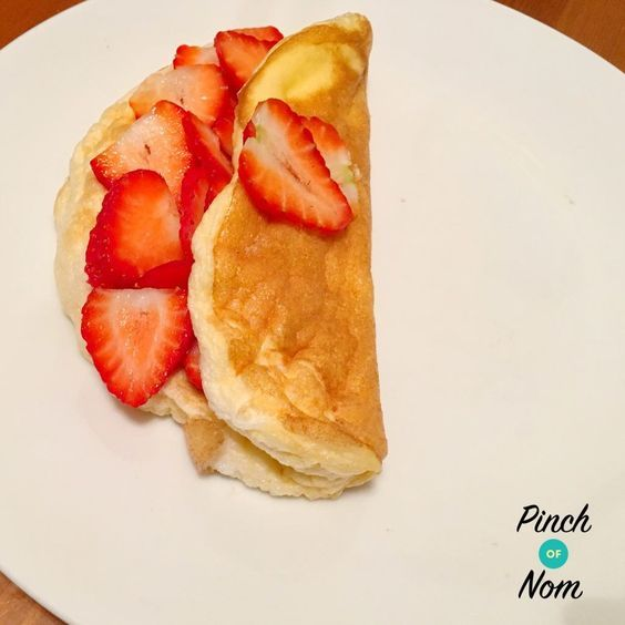 It's not quite a pancake, but it's a pretty good alternative! We use Sukrin  which is an all-natural granulated stevia sweetener alternative to sugar with zero calories. It doesn't have that strange after taste that a lot of artificial sweeteners do, which makes it perfect for baking. You can buy it here at Muscle Food &…