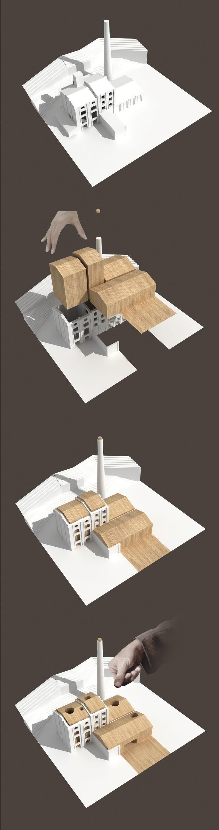 concept diagram   La-Castelnuovese Headquarters   KK Architetti Associati