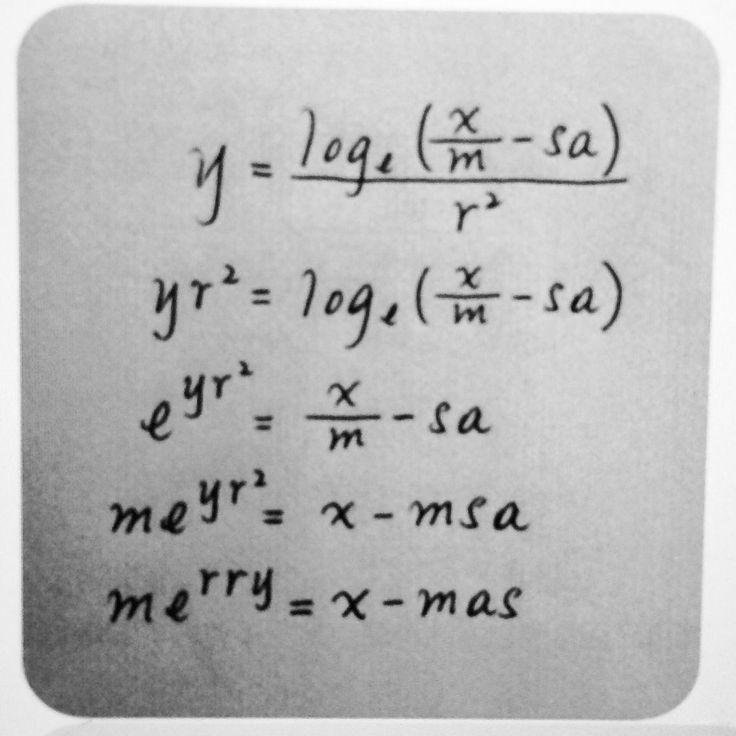 Merry Christmas Math Teachers!