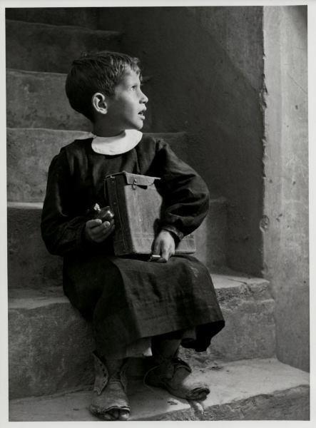 Fosco Maraini – Aliano-Ritorno da scuola, Basilicata