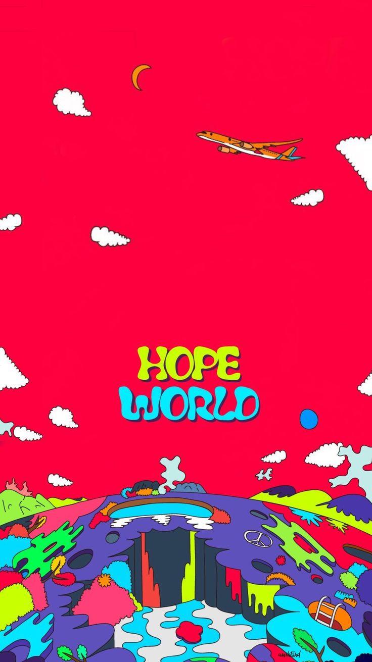 BTS WALLPAPER JUNG HOSEOK JHOPE HOPE WORLD