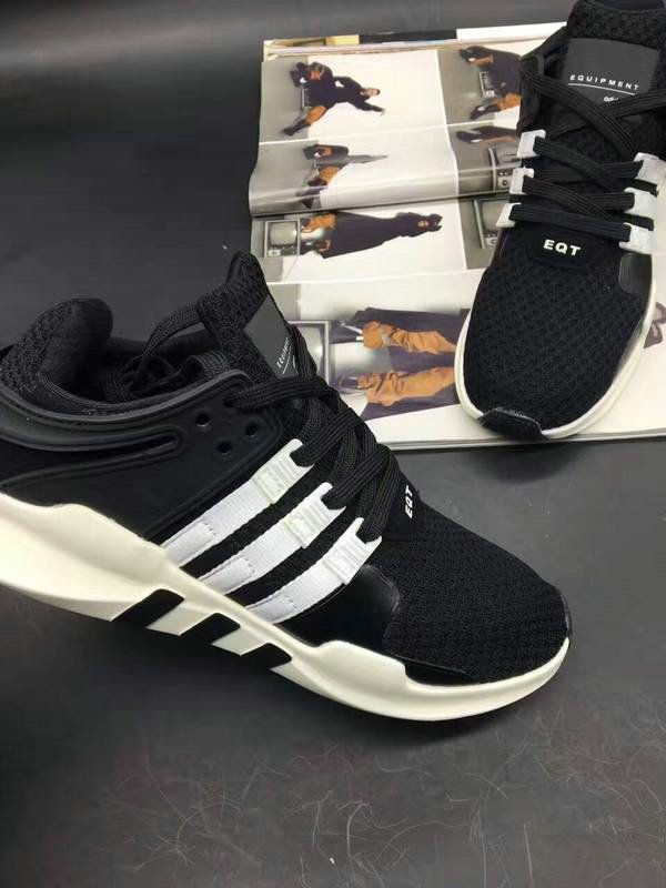 new style eb521 6b2a7 Discount Adidas EQT running support 93 Primeknit Oreo Black ...