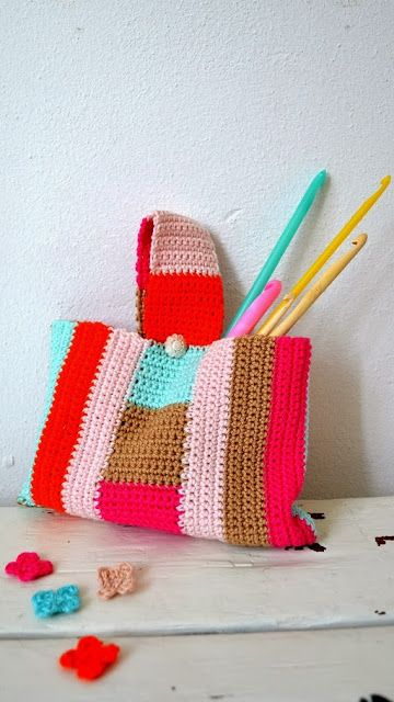 Little crochte bag (and rain is coming) - ingthings