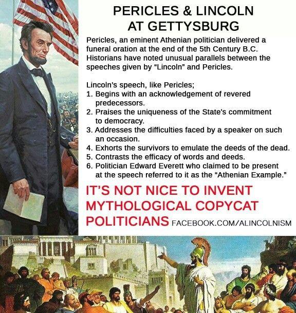 Pericles vs Lincoln