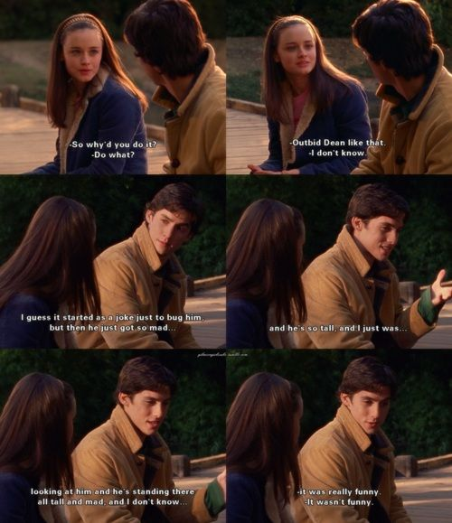Rory and Jess <3 I prefer Rory and Dean...or Logan! Not a fan of Jess!!!