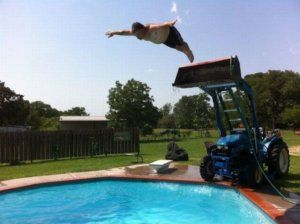 Who Needs A Diving Board?