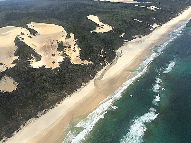 16/52 :: Bird's Eye View of Eli Creek, Fraser Island Published by Linda McCormick