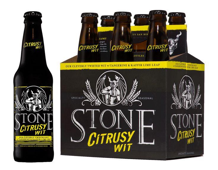 Stone Citrysy Wit Beer