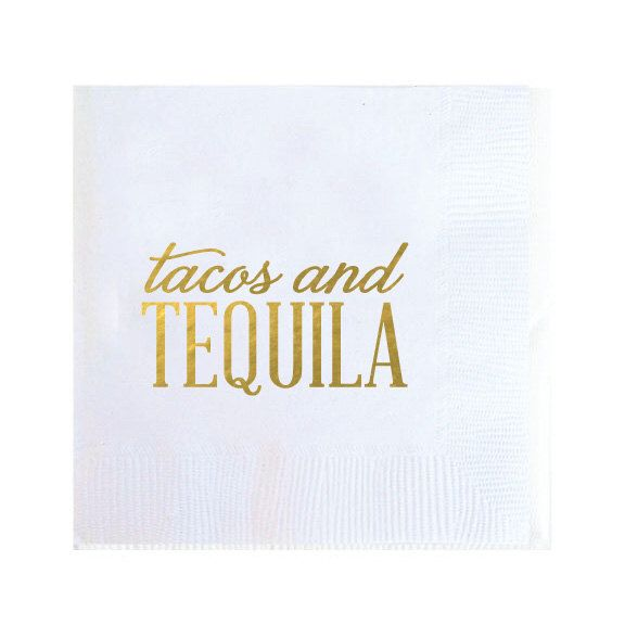 Cinco de Mayo Party Cocktail Napkins - Tacos and Tequila - Set of 20 by TheYellowNote on Etsy https://www.etsy.com/listing/288731385/cinco-de-mayo-party-cocktail-napkins