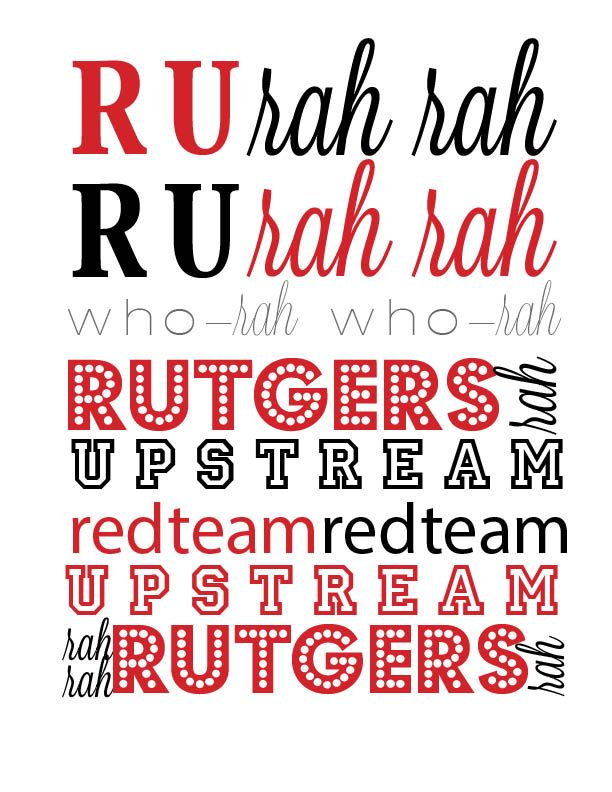 RUTGERS, Fight Song!