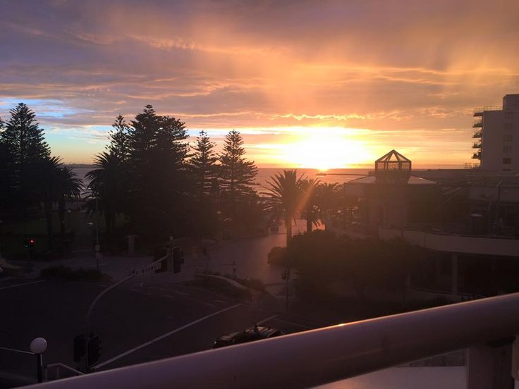 Another beautiful sunrise from Rydges Cronulla.