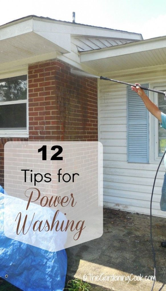 These 12 Tips For Power Washing Your Home And Patios Will Have Your Yard Looking Like New In No Time At All House Wash Pressure Washing Pressure Washing House