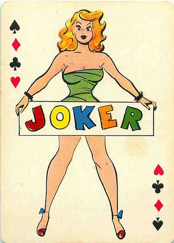 Pin-up Cartoon Playing Cards by andertoons, via Flickr