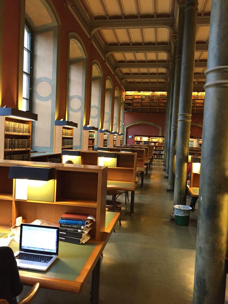 Läsesalen Kungliga Biblioteket