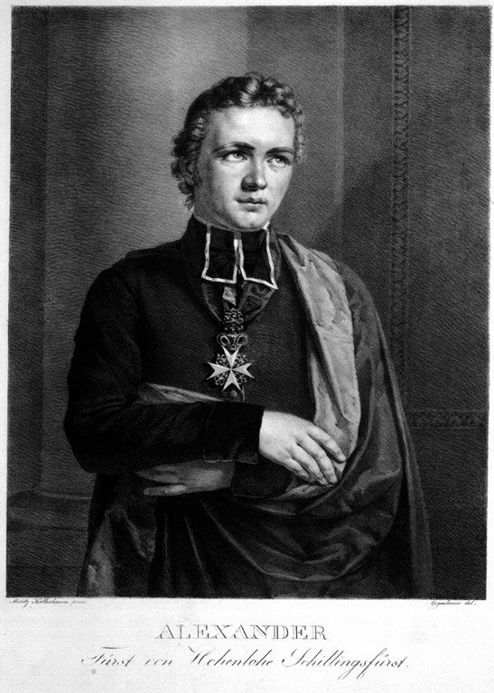Fürst Alexander zu Hohenlohe-Waldenburg-Schillingsfürst