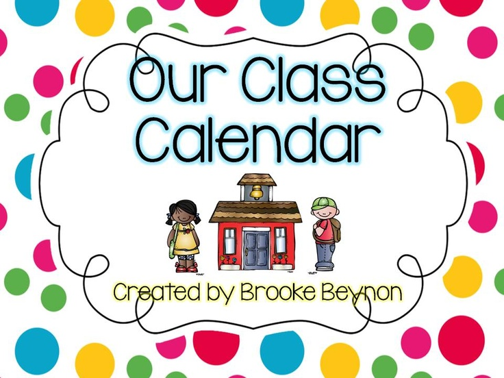 Our Class Calendar - Make your daily calendar session easy with this fun pack. In an eye-catching dot design, students will enjoy calendar time every day.  Included is: *Yesterday was/Today is/Tomorrow is  *Days of the week cards *Blank Month page *Month cards *Weather cards *Weather graphing (2 versions) *Girls/Boys/Students in our class *Number cards