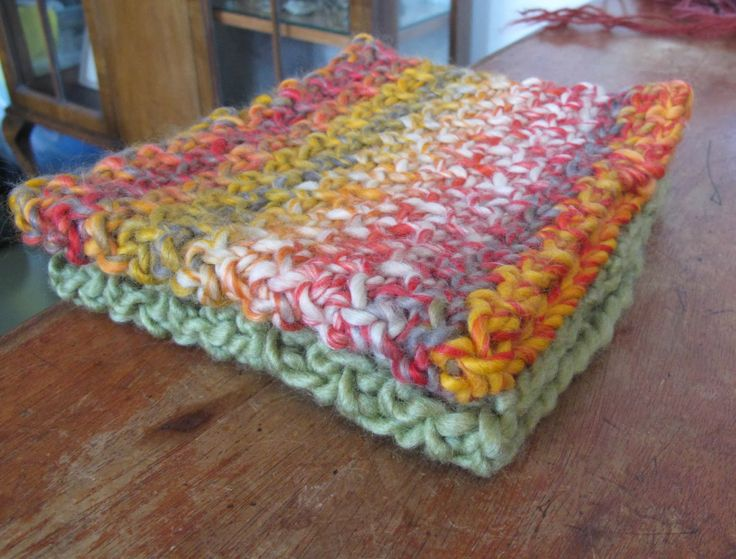 Quick and easy neck warmers crocheted in super bulky