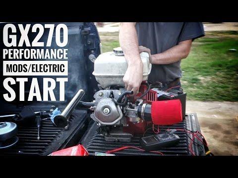 Honda GX270 Engine Performance Mods & Electric Start FSTGK
