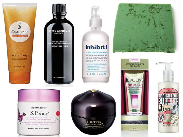 Our favourite body products.