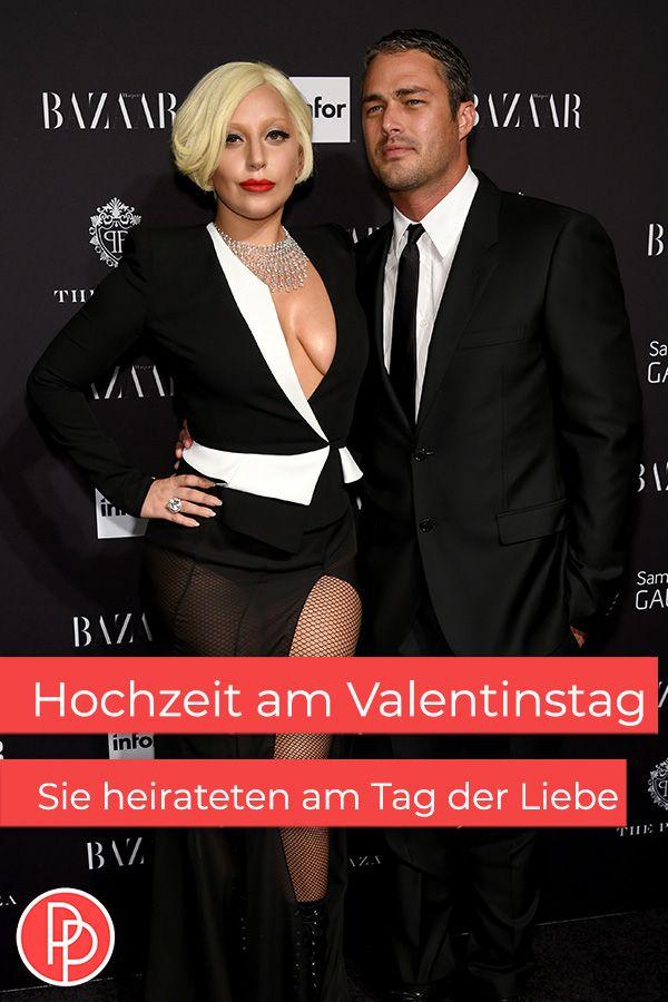 Hochzeit Am Valentinstag Diese Stars Haben Am 14 Februar Geheiratet In 2020 Heiraten Taylor Kinney Lady Gaga