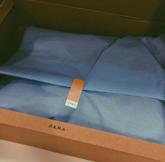 Zara packaging