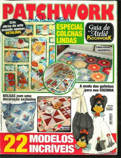 21 Guia do atelie patchwork n. 1 - maria cristina Coelho - Álbuns da web do…